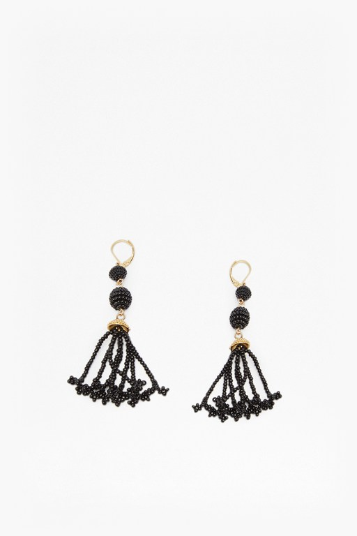 Complete the Look Geo Resin Bead Earrings