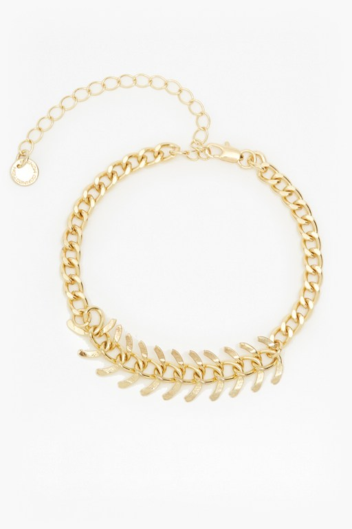 Complete the Look Charmed Wishbone Bracelet