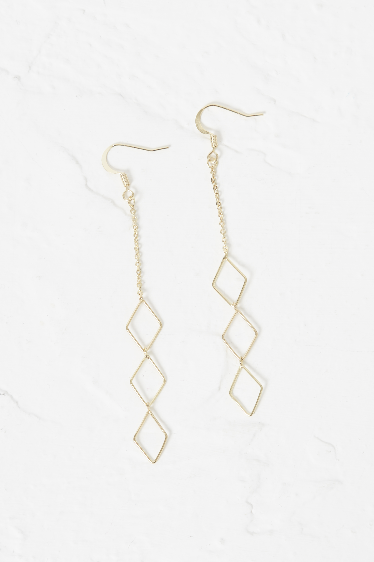 French Connection Hammered Stick Drop Earrings wlyjeYiy3I