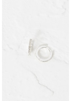 Alina Crystal Mini Hoop Earrings