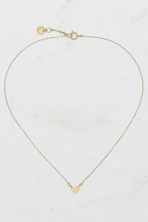 Complete the Look Mini Heart Charm Necklace