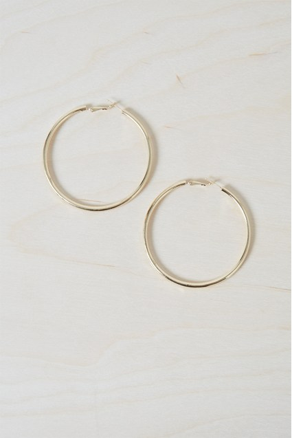 Chunky Geo Hoop Earrings