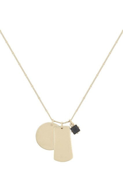 dogtag pendat necklace