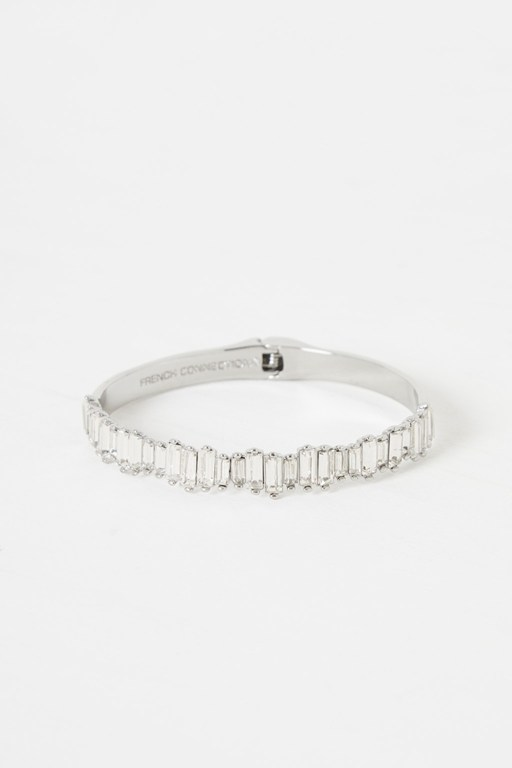 Complete the Look Cluster Hinge Cuff Bracelet