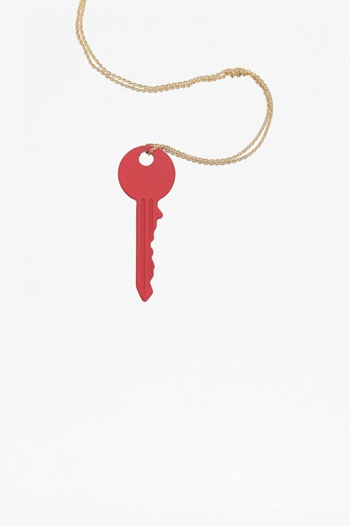 key chain necklace