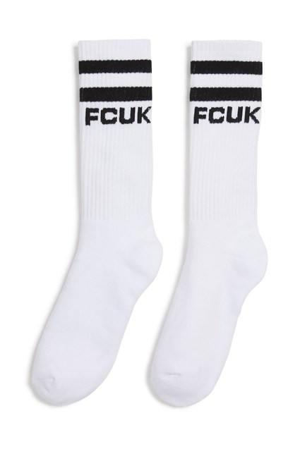 FCUK RIBBED HIGH SOCK