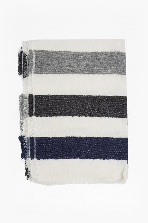 Complete the Look Philomena Striped Scarf
