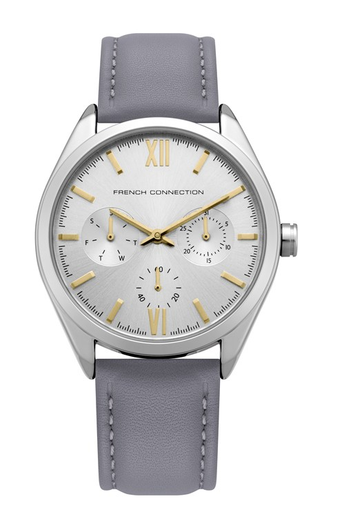 Complete the Look SILVER MULTI LEATHER STRAP