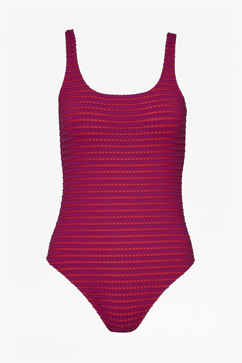 Pointelle Swimming Costume Festival Clothing French Connection Usa