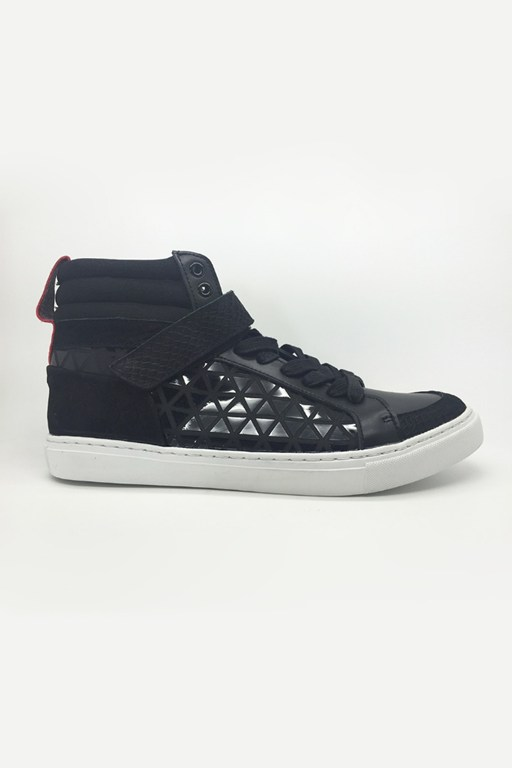 costa high top trainers