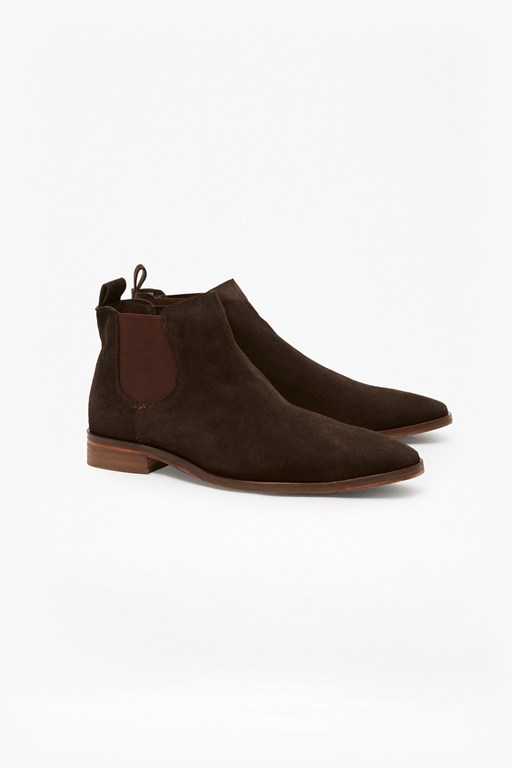 Complete the Look Leather Chelsea Boots