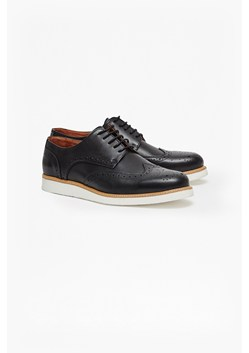 Casual Leather Brogue Shoes