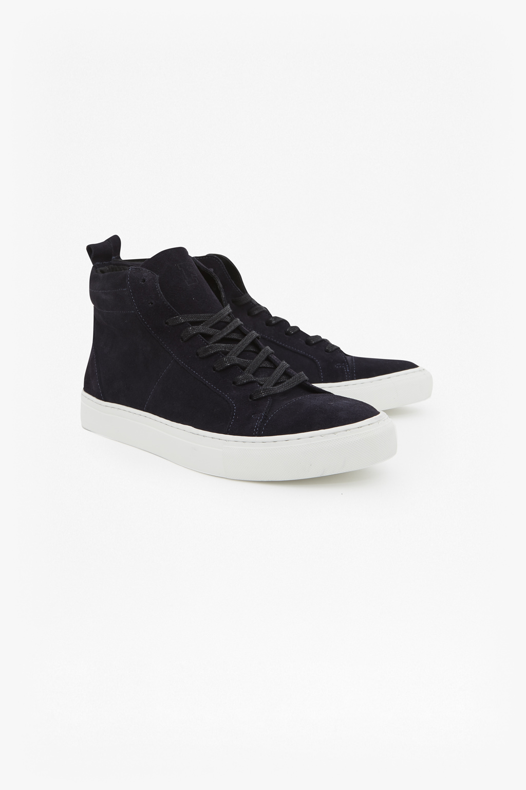 Suede High Top Trainers   Mens Sale