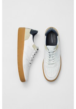 Aaron Lace Up Leather Sneakers
