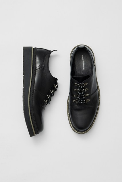 Flatform Leather Shoes