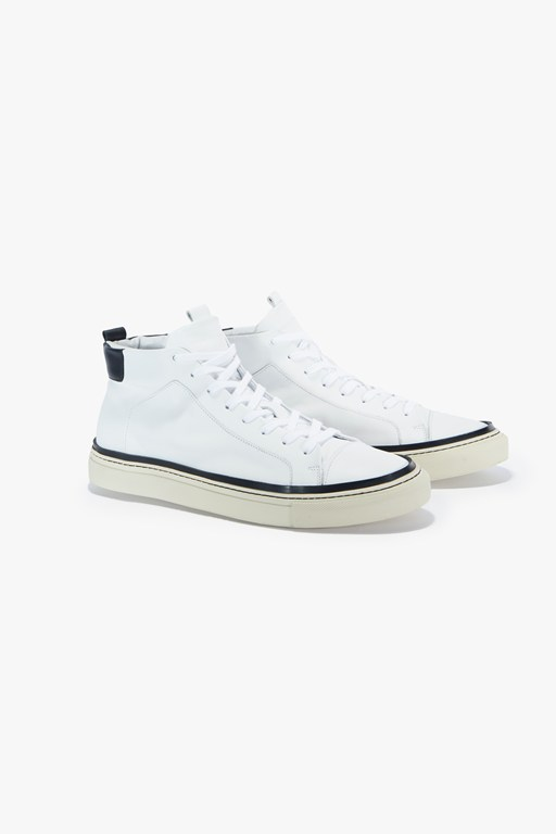 lars logo high top trainer