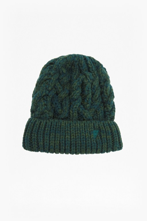 chad cable knit beanie