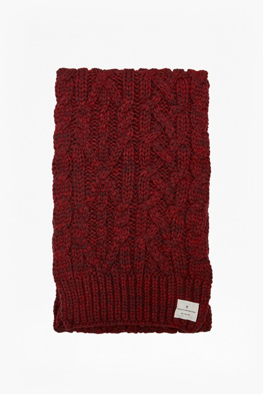 Complete the Look Chad Cable Knit Scarf