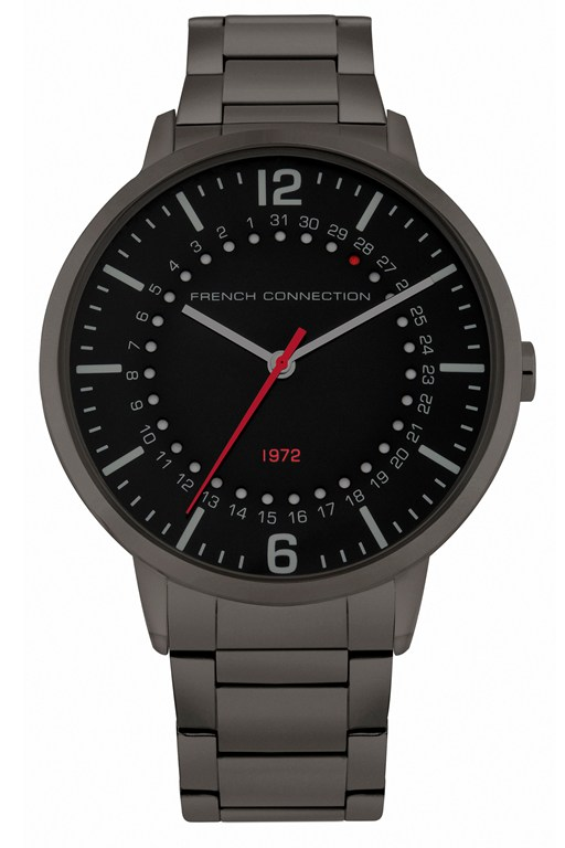 Complete the Look Gunmetal Watch