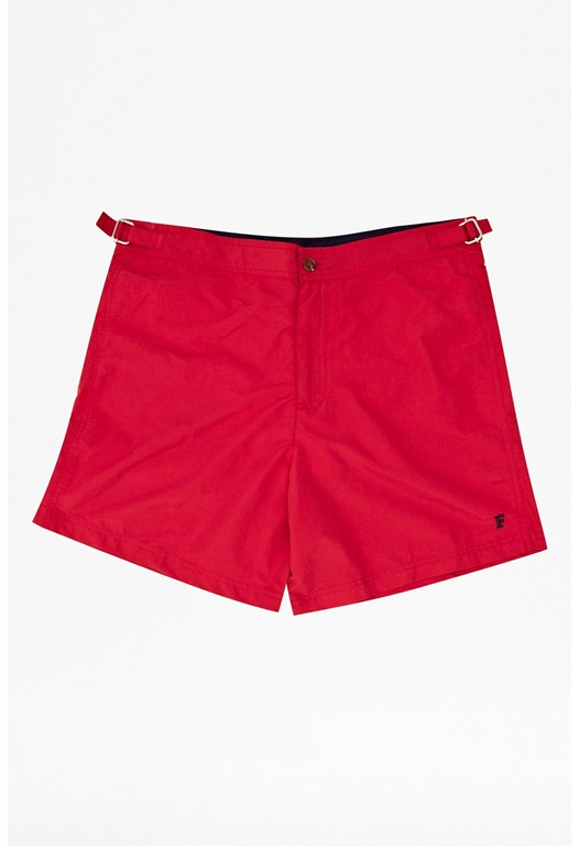 Maxwell Plain Tailored Swim Shorts