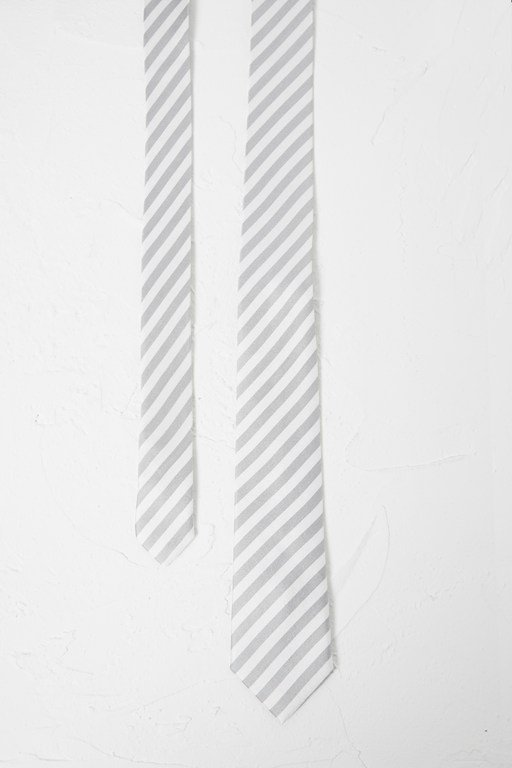 narrow stripe tie