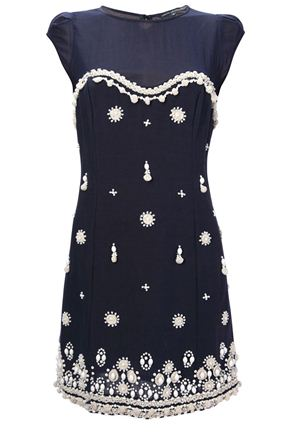 Belle Dress - Embellished - French Connection Usa
