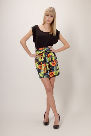 French Connection Totally Tropical Skirt :  french connection bright skirt tropical skirt skirts