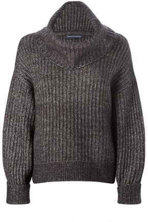POLAR KNITS L/S ROLL NK JUMPER - Sweaters - French Connection Usa