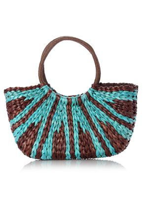 Sunrise Straw Bag